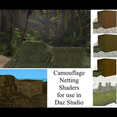 Camouflage Netting Shaders