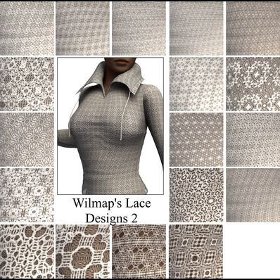 Lace Design Shaders 2