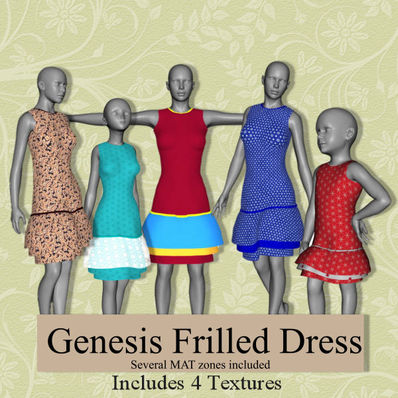 Genesis Frilled Dress