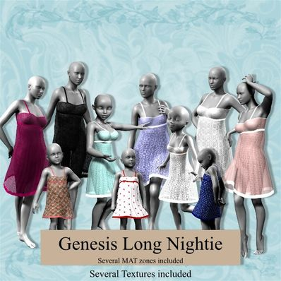 Genesis Long Nightie