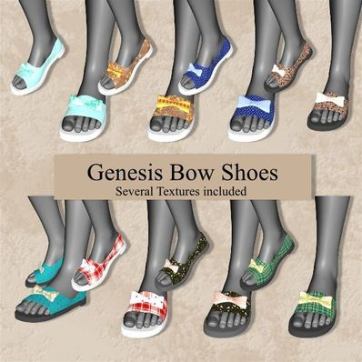 Genesis Bow Shoes
