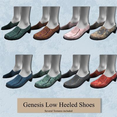 Genesis Low Heeled Shoes