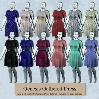 Genesis Gathered Dress