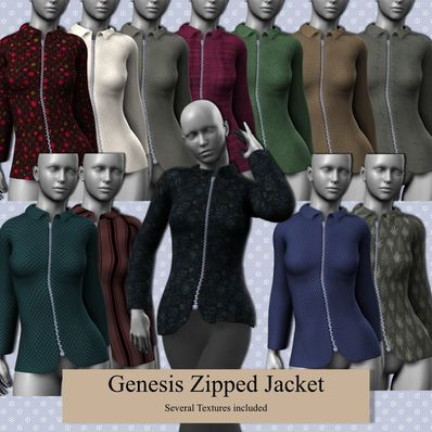 Genesis Zipped Jacket