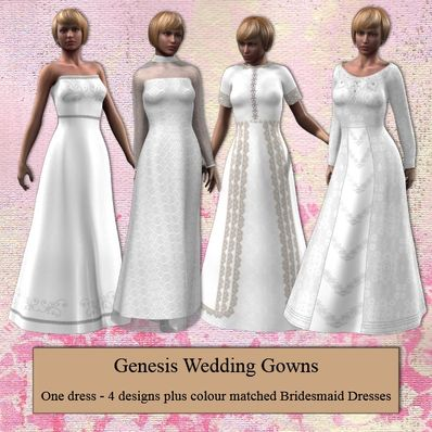 Genesis Wedding Dresses Part 1