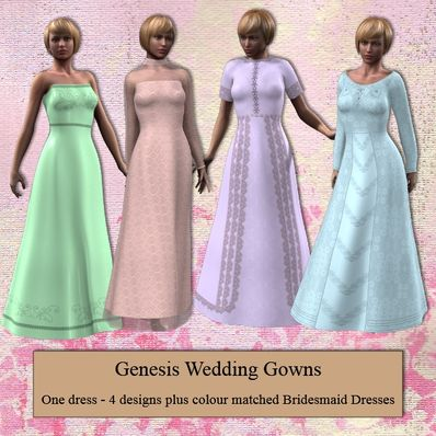 Genesis Wedding Dresses Part 2