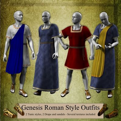 Genesis Roman Style Outfits