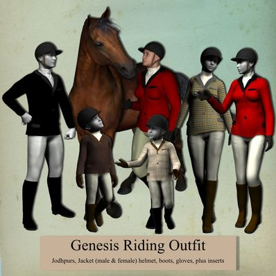 Genesis Riding Outfit