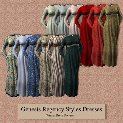 Genesis Regency Winter Dresses