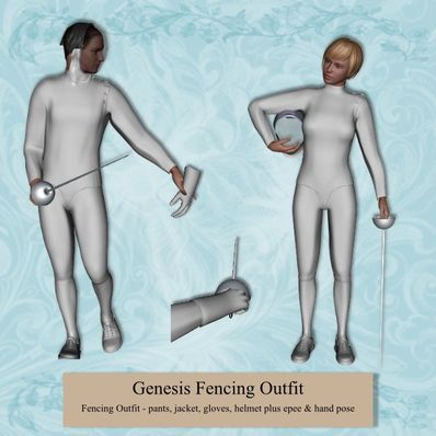 Genesis Fencing Outfit