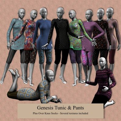 Genesis Tunic & Pants Part 1