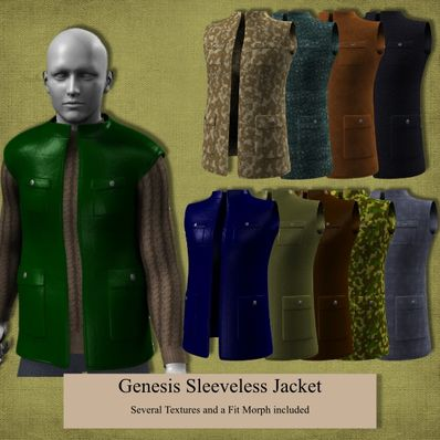 Genesis Sleeveless Jacket
