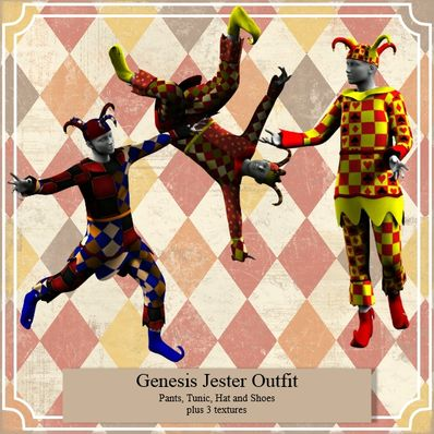 Genesis Jester Outfit