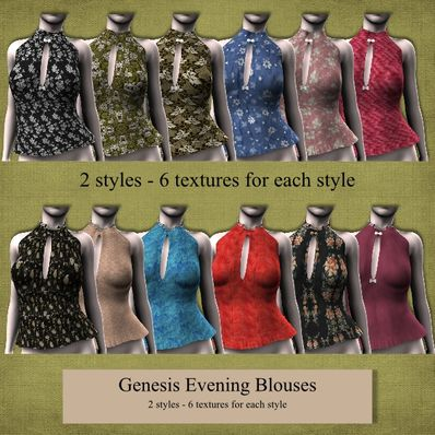 Genesis Evening Blouses