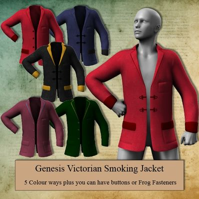 Genesis Victorian Smoking Jacket