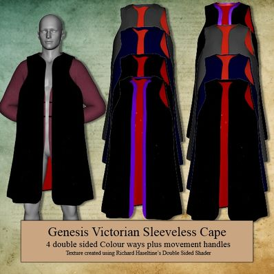 Genesis Victorian Sleeveless Cape