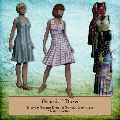 Genesis 2 Female Summer Dress