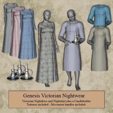 Genesis Victorian Nightwear Part 2