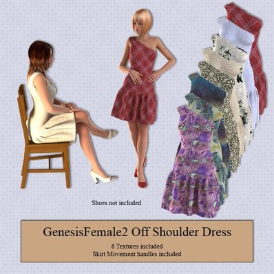 Genesis 2 Female Off Shoulder Dress