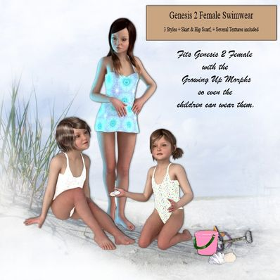 Genesis 2 Female Swimwear