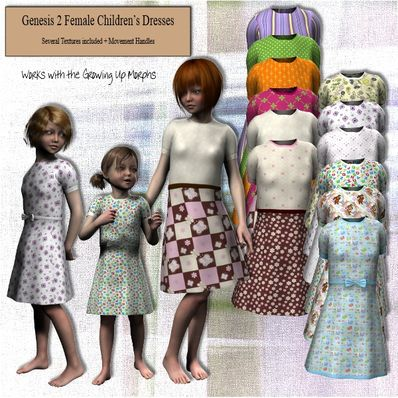 Genesis 2 Female Children's Dress