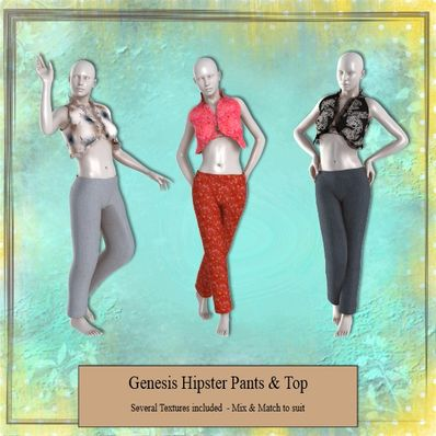 Genesis Hipster Pants & Top Part 1