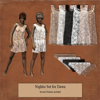 Nightie Set for Dawn