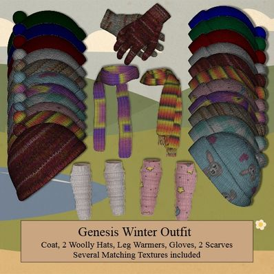 Genesis Winter Outfit - Accessories Part 2