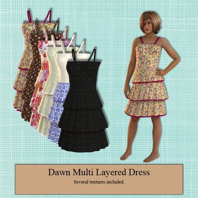 Multi Layered Dress for Dawn