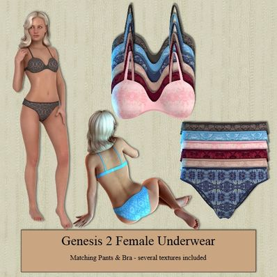 Genesis 2 Female Underwear