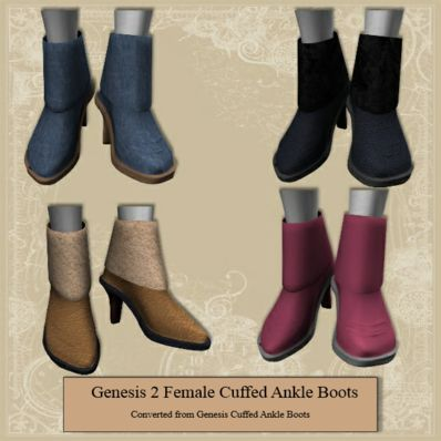 Genesis 2 Female Cuffed Ankle Boots