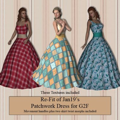 Jan19s Patchwork Dress for G2F