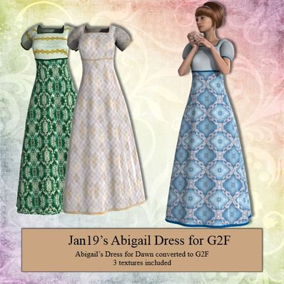 Jan19's Abigail Dress for G2F