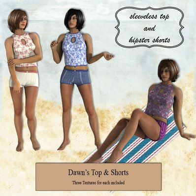 Top & Shorts for Dawn