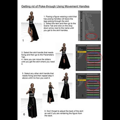Using Skirt Movement Handles - PDF Format