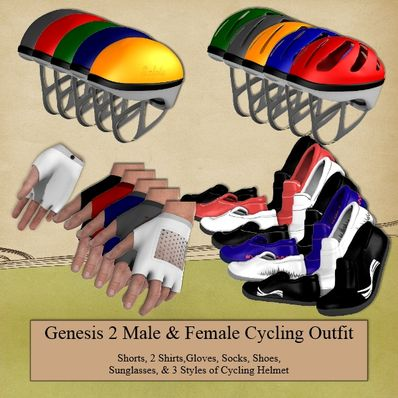 G2M & G2F Cycling Outfit Part 3