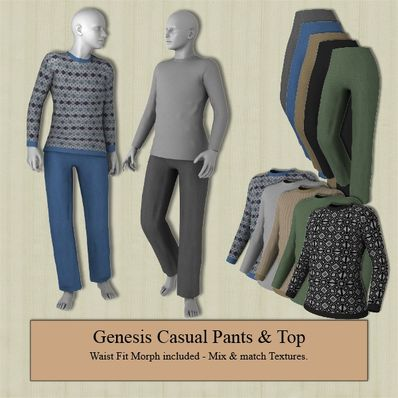 Genesis Casual Pants & Top