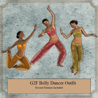 G2F Belly Dancer Outfit