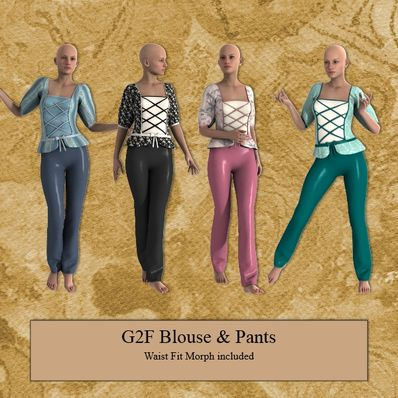 G2F Blouse & Pants