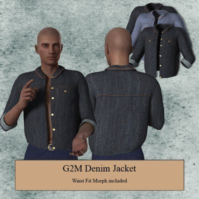 G2M Denim Jacket