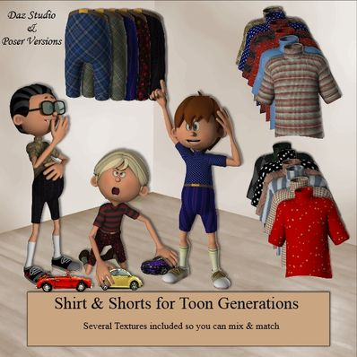 Shirt & Shorts for Toon Generations