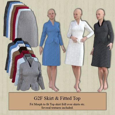 G2F Skirt & Fitted Top