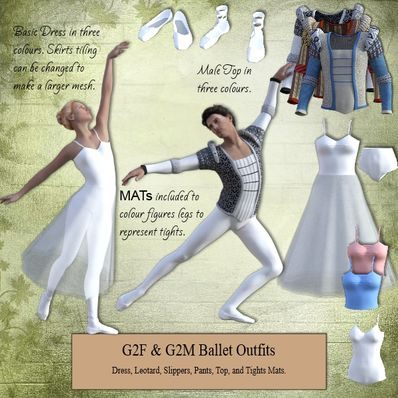 G2F & G2M Ballet Outfit