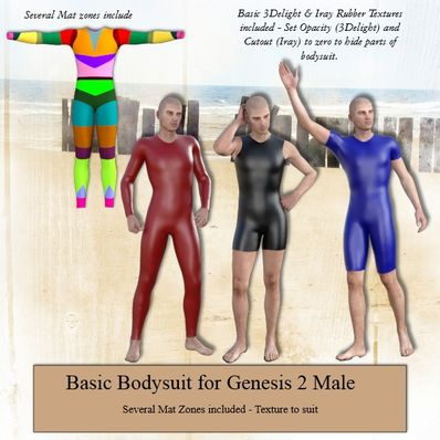 Basic Bodysuit for G2M