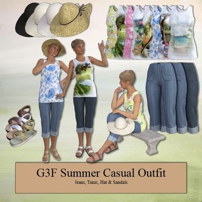 GENESIS 3 Female Summer Casual Outfit