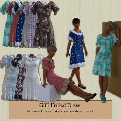 G8F Frilled Dress