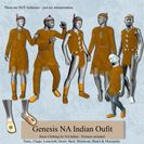 Genesis North American Indian Outfit