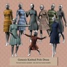 Genesis Knitted Polo Dress