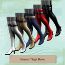 Genesis Thigh Boots