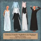Genesis 2 Female Nightdress & Negligee
